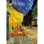 Puzzle  Art-Puzzle-5210 Vincent Van Gogh - Café Terrace at Night, 1888