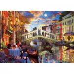 Puzzle  Art-Puzzle-5372 Pont Rialto, Venise