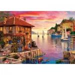 Puzzle  Art-Puzzle-5374 Mediterranean Port