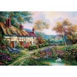 Puzzle  Art-Puzzle-5379 Spring Garden