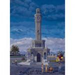 Puzzle  Art-Puzzle-81054 Turquie : Izmir - la tour de l'Horloge
