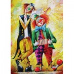 Puzzle   Clowns Musiciens