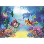 Puzzle   Pièces XXL - The Diver Kids