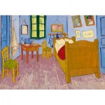 Puzzle  Art-by-Bluebird-60004 Vincent Van Gogh - Bedroom in Arles, 1888