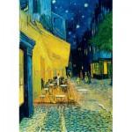 Puzzle  Art-by-Bluebird-60005 Vincent Van Gogh - Café Terrace at Night, 1888