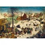 Puzzle  Art-by-Bluebird-60026 Pieter Bruegel the Elder - The Census at Bethlehem, 1566