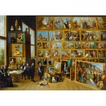Puzzle  Art-by-Bluebird-60054 David Teniers the Younger - The Art Collection of Archduke Leopold Wilhelm in Brussels, 1652