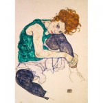 Puzzle  Art-by-Bluebird-60092 Egon Schiele - Seated Woman with Legs Drawn Up, 1917