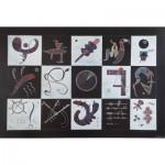 Puzzle  Art-by-Bluebird-60109 Kandinsky - Quinze, 1959
