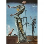 Puzzle  Art-by-Bluebird-60112 Salvador Dalí - Burning Giraffe, c. 1937
