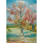 Puzzle  Art-by-Bluebird-60116 Vincent Van Gogh - Pink Peach Trees (Souvenir de Mauve), 1888