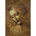 Puzzle  Art-by-Bluebird-60117 Leonardo da Vinci - La Scapigliata, 1506-1508