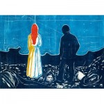 Puzzle  Art-by-Bluebird-60129 Edvard Munch - Two People: The Lonely Ones, 1899