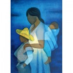 Puzzle  Art-by-Bluebird-60142 Louis Toffoli - La Mère et les Enfants, 1973