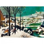 Puzzle  Art-by-Bluebird-Puzzle-60029 Pieter Bruegel the Elder - Hunters in the Snow (Winter), 1565