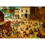 Puzzle  Art-by-Bluebird-Puzzle-60034 Pieter Bruegel the Elder - Children's Games, 1560
