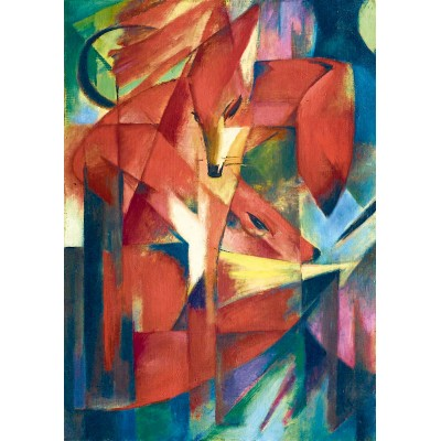 Puzzle Art-by-Bluebird-Puzzle-60068 Franz Marc - The Foxes, 1913