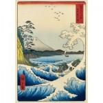 Puzzle  Art-by-Bluebird-Puzzle-60118 Utagawa Hiroshige - The Sea at Satta, Suruga Province, 1859