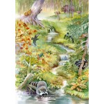 Puzzle  Bluebird-Puzzle-70025 Forest Animals