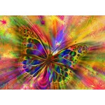 Puzzle  Bluebird-Puzzle-70050 Colorful Butterfly