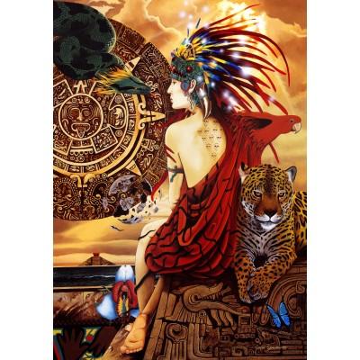 Puzzle Bluebird-Puzzle-70058 Aztec Dawn