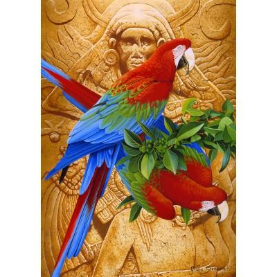 Puzzle Bluebird-Puzzle-70103 Aztec Rainbow