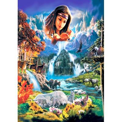 Puzzle Bluebird-Puzzle-70135 Four Seasons