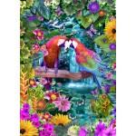 Puzzle  Bluebird-Puzzle-70138 Parrot Paradise