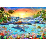 Puzzle  Bluebird-Puzzle-70194 Tropical Bay