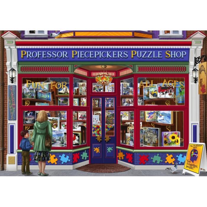 Professor Puzzles