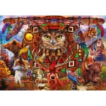 Puzzle  Bluebird-Puzzle-70247-P Animal Totem