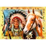Puzzle  Bluebird-Puzzle-70284 Indian Chief