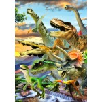 Puzzle  Bluebird-Puzzle-70287 Dino Sunset