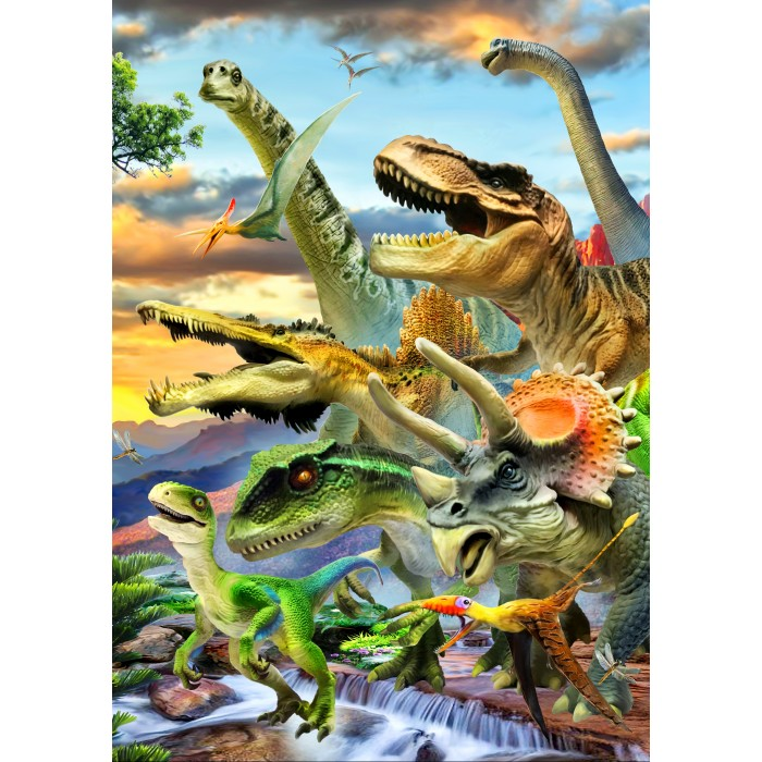 Dino Sunset