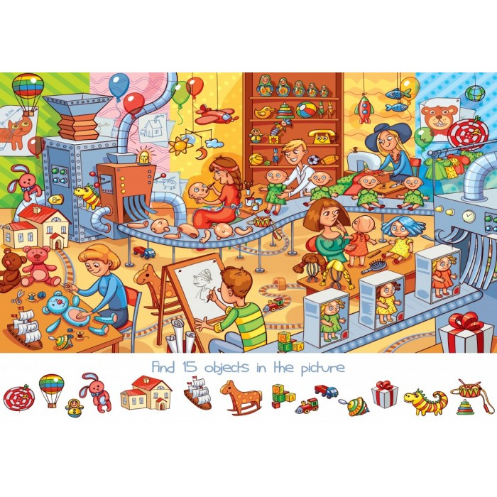 Search and Find - The Toy Factory