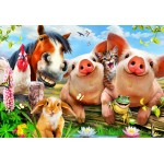 Puzzle  Bluebird-Puzzle-70370 Petting Farm