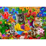 Puzzle  Bluebird-Puzzle-70393 Kitten Fun