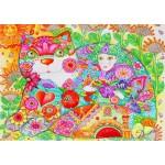 Puzzle  Bluebird-Puzzle-70415 Flowers