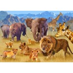 Puzzle  Bluebird-Puzzle-70419 Savannah Animals