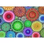 Puzzle  Bluebird-Puzzle-70487 Rose Window