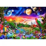 Puzzle  Bluebird-Puzzle-70504-P Cosmic Paradise