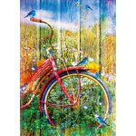 Puzzle   Bluebirds on a Bicycle