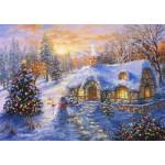 Puzzle   Christmas Cottage