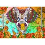 Puzzle   Colorful Elephant