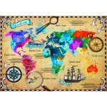 Puzzle   Colorful World Map