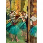 Puzzle   Degas - Dancers, Pink and Green, 1890