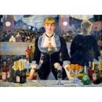 Puzzle   Édouard Manet - A Bar at the Folies-Bergère, 1882