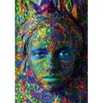 Puzzle   Face Art - Portrait of woman