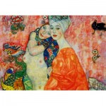 Puzzle   Gustave Klimt - The Women Friends, 1917