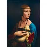 Puzzle   Leonardo Da Vinci - Lady with an Ermine, 1489
